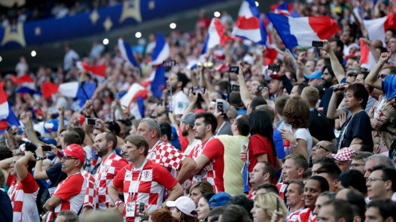 Чемпионом мира по футболу стала сборная Франции