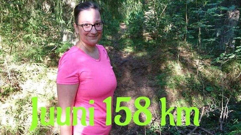 Blogija juuni kokkuvõte: 158 kilomeetrit jooksmist!