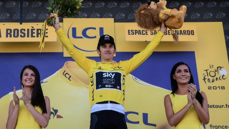 NII SEE JUHTUS | Sport 18.07: Sildaru sai hea uudise, Prantsusmaa velotuuri kollane liidrisärk vahetas omanikku