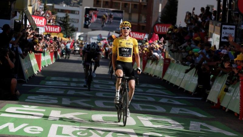 Tour de France'i põneva 12. etapi võit läks üldliidrile, Taaramäe jaoks tuur lõppenud