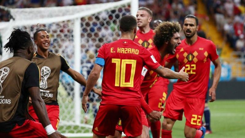 NII SEE JUHTUS | Jalgpalli MM: Belgia pääses ülenoatera, Brasiilia näitas musklit, nüüd madistatakse omavahel