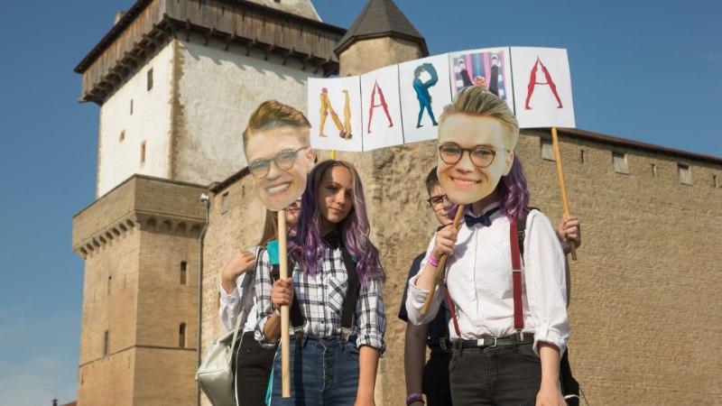 """Mikolas Josef Baltic Sunil: """"Tere, Eesti! Tere, Narva! Hei, on siin keegi koos minuga?"""""""