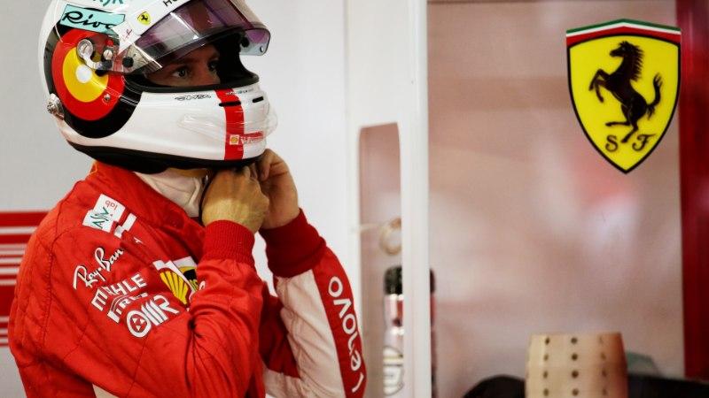 Vettel näitas kodurajal enneolematut kiirust, Mercedes vedas Hamiltoni alt