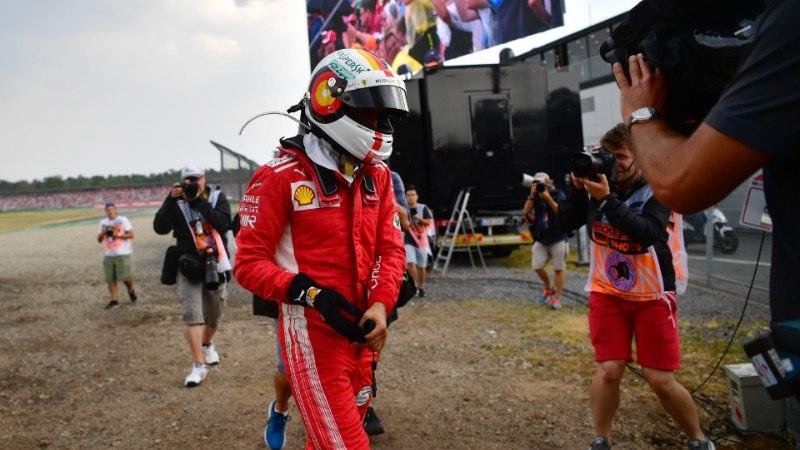 VIDEO | Kodurajal esikohalt seina sõitnud Vettelile maksis kätte liigne enesekindlus