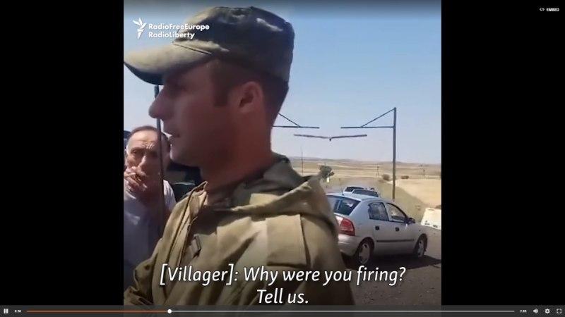 VIDEO | Vene sõdurid ehmatasid Armeenia külarahvast
