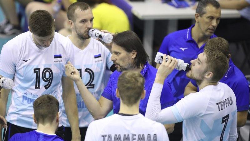 Eesti võrkpallikoondised alustasid ettevalmistust EM-valikmängudeks