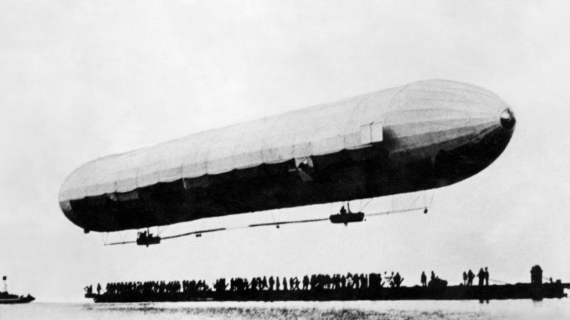 Kuidas tsepeliin Tallinna kohal lendas