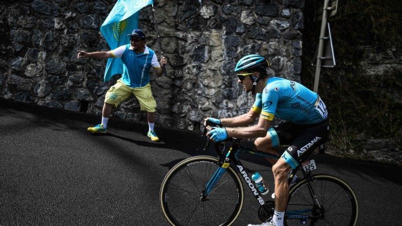 VIDEO | Kangerti unistus Tour de France'i etapivõidust purunes 8 km enne lõppu