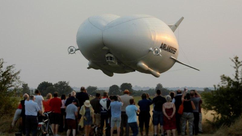 VIDEOD | Maailma suurim õhusõiduk pakub ohtralt luksust, kuid näeb välja nagu tagumik