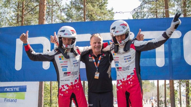 ÕL JYVÄSKYLÄS   Soome MM-ralli raport: Tänakule jackpot, Hyundai tipud põrusid