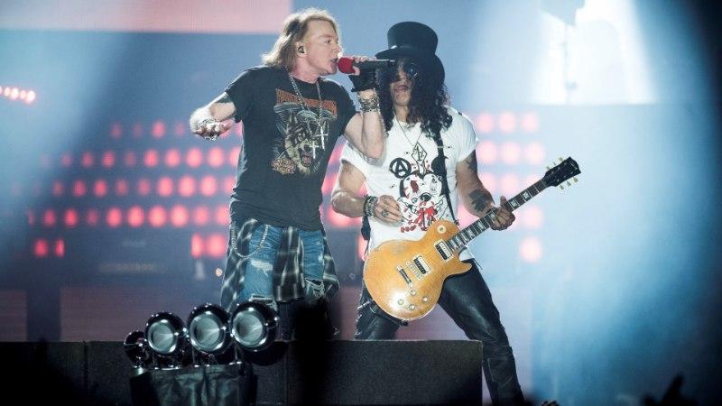 Sülearvutid ja vihmavarjud jäta koju! Kõik, mida pead teadma Guns N' Roses'i kontserdist