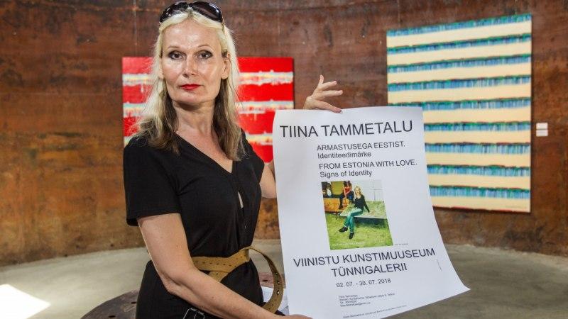 GALERII   Kunstnikud Tiina Tammetalu ja Mariann Hakk-Eve kohtusid vaatajatega Viinistu kunstimuuseumis