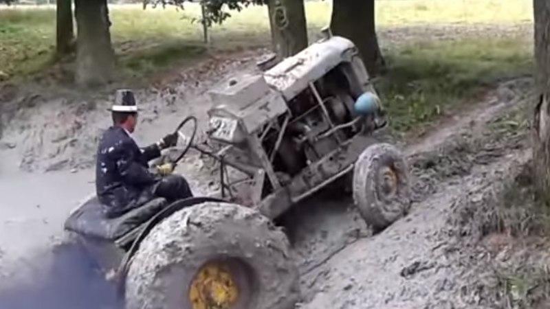 VIDEO | Vaata, kuidas pöörased põkamehed oma traktoritega hullavad