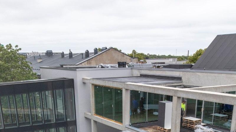 Kunstiakadeemia uue maja ehitus on lõpusirgel