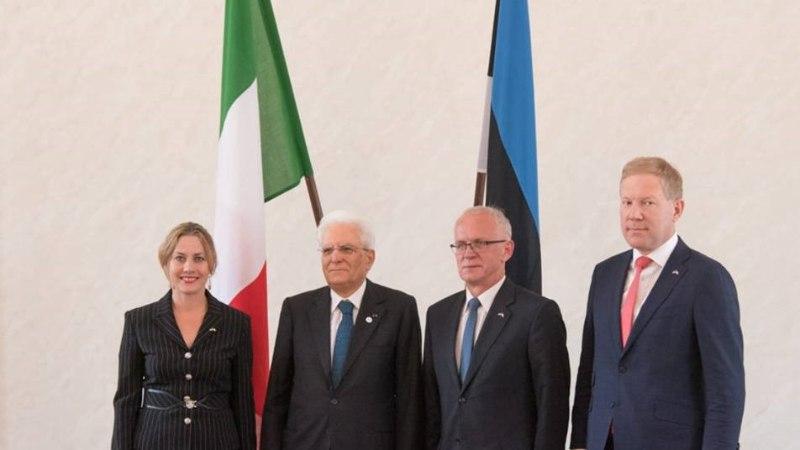 Oudekki Loone sai Itaalia presidendilt auraha rinda: pisar tuli silma küll