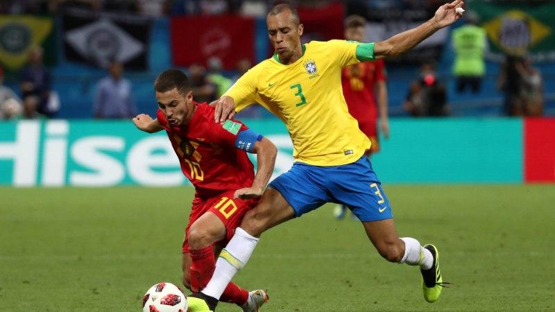 Brasiilia koondislane: olen kindel, et mu tiimikaaslased võidavad ühel päeval MMi