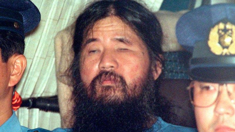 Jaapanis hukati kuus sektiliiget ning nende guru Shoko Asahara
