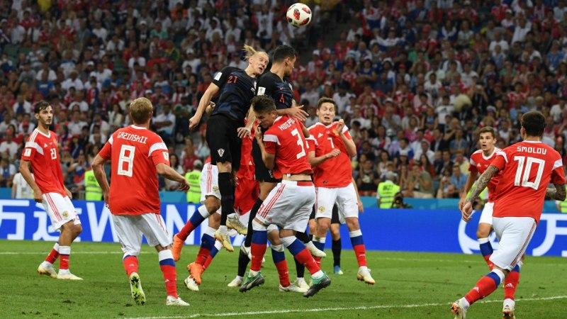 NII SEE JUHTUS | Jalgpalli MM: finaalis mängib kas Horvaatia või Inglismaa!
