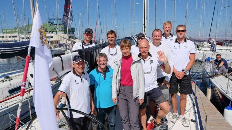 GALERII | President Kaljulaid teeb Eesti purjetamise ajalugu