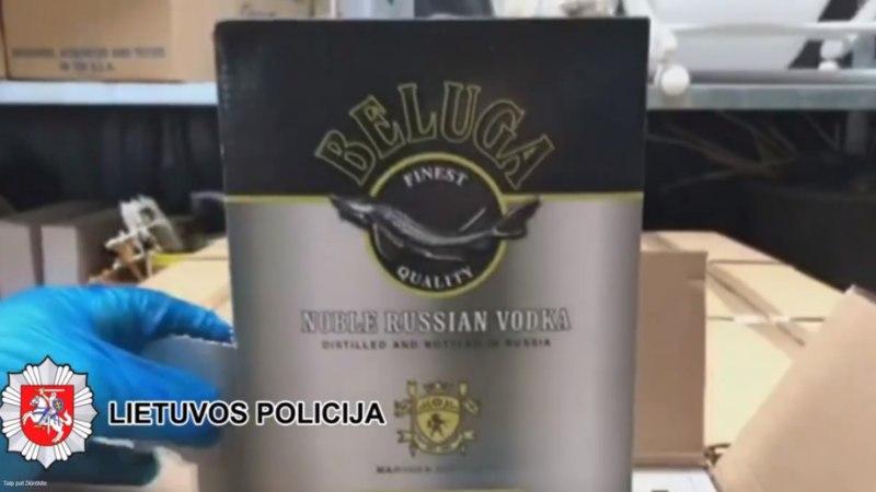 VIDEO | Leedu politsei tabas salaviinatootjate võrgustiku