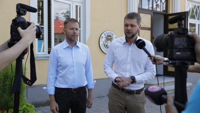 FOTOD | Ossinovski esitles uut ministrikandidaati