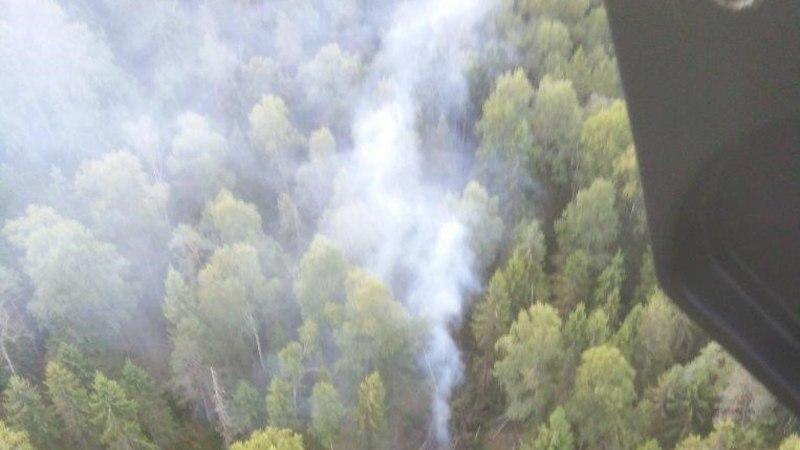 FOTOD | Raketi otsingualal on tulekahju kustutatud, otsingud jätkuvad