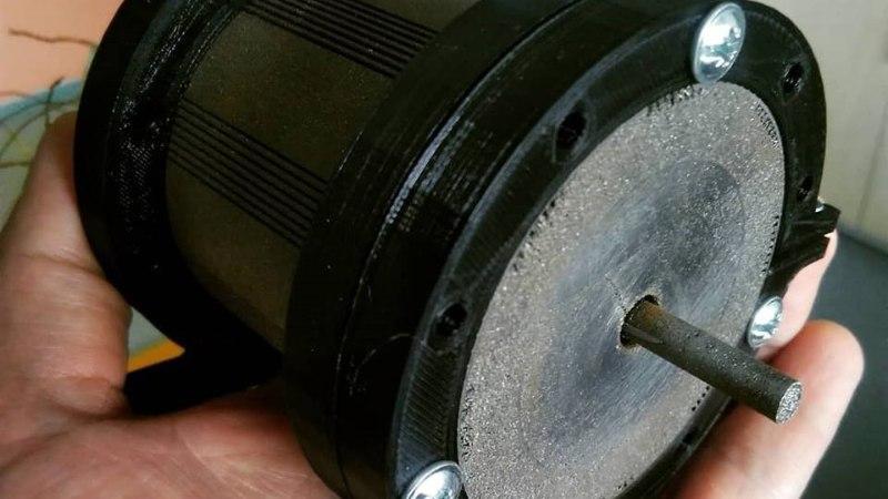 TTÜs sai teoks Eesti esimene prinditud rauast elektrimootor
