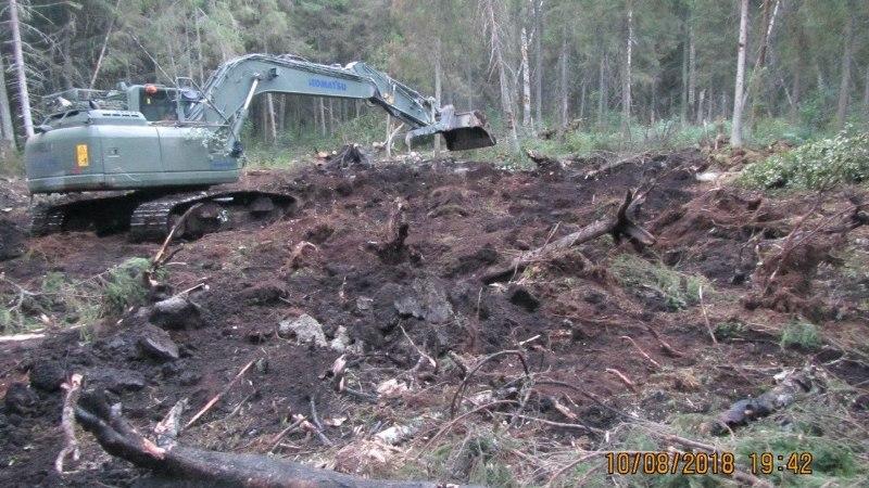 FOTOD | Lootus luhtus: eksikombel välja tulistatud raketti ei leitud Endla looduskaitsealalt