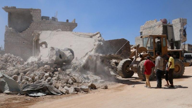 Süürias hukkus relvahoidla plahvatuses 39 inimest, nendest 12 last
