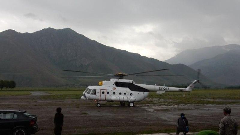В горах Таджикистана разбился вертолет, на котором должны были лететь эстонские альпинисты