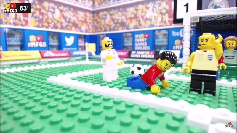 VIDEO   Kui Lillekülas vudinuks legomehikesed, kulgenuks superkarikafinaal nõnda