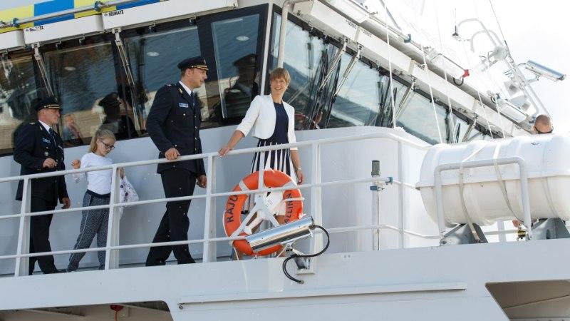 ÕL VIDEO JA GALERII | President uudistas piriivalve uut patrull-laeva