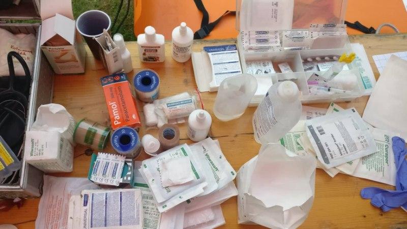 Juba paarkümmend Weekendi külastajat on külastanud meditsiinitelki