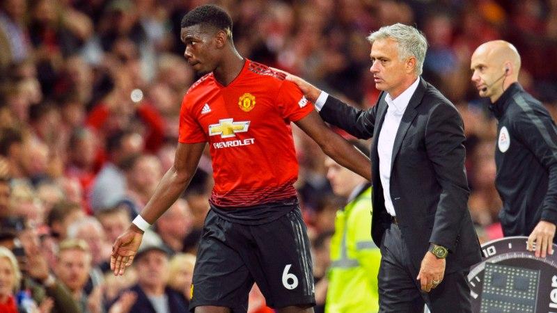 Mourinho kinnitas, et võtab Pogbalt varsti kaptenipaela ära