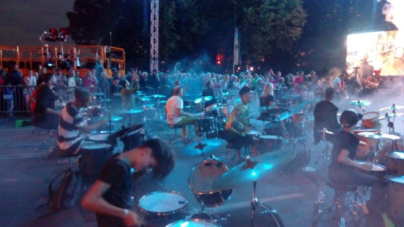 GALERII   Riia päevad tõid kokku üle 300 trummari ja 2000 eestlase
