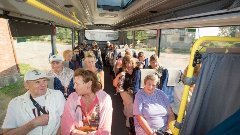 LINNAS TÖÖTAV MAANAINE: tasuta buss on nagu jumala õnnistus!