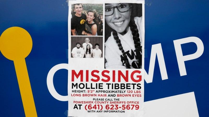 Iowa metsast leitud laip võib olla juulis kadunud tudengineiu