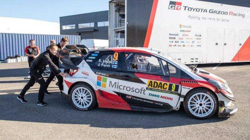 VIDEO JA GALERII | Toyota rallitiim tõi tehase Soomest Eestisse!