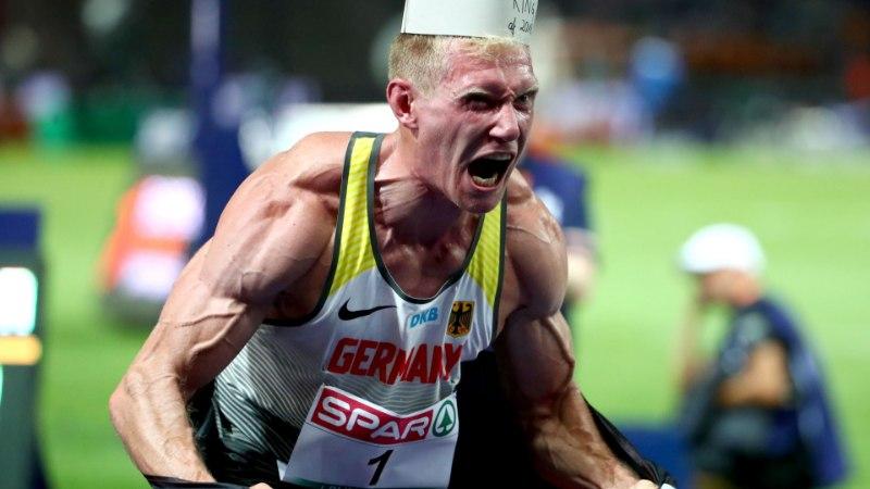 Euroopa meistriks tulnud sakslane võitles vähem kui pool aastat enne suurvõistlust šokeeriva tervisemurega
