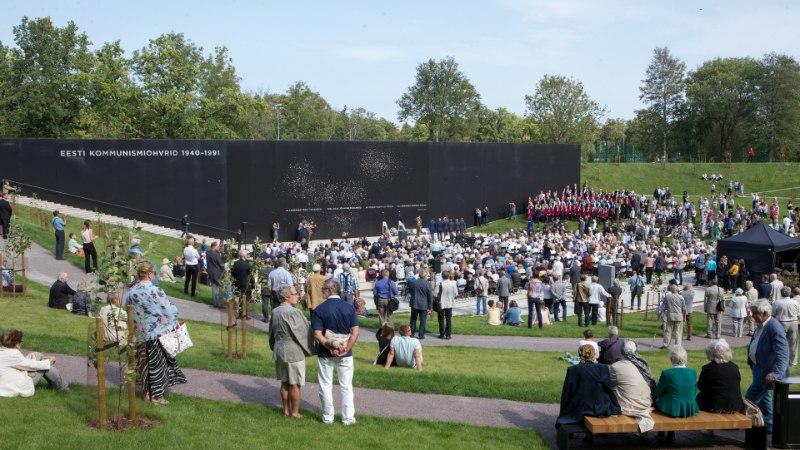Maarjamäel avati kommunismiohvrite memoriaal