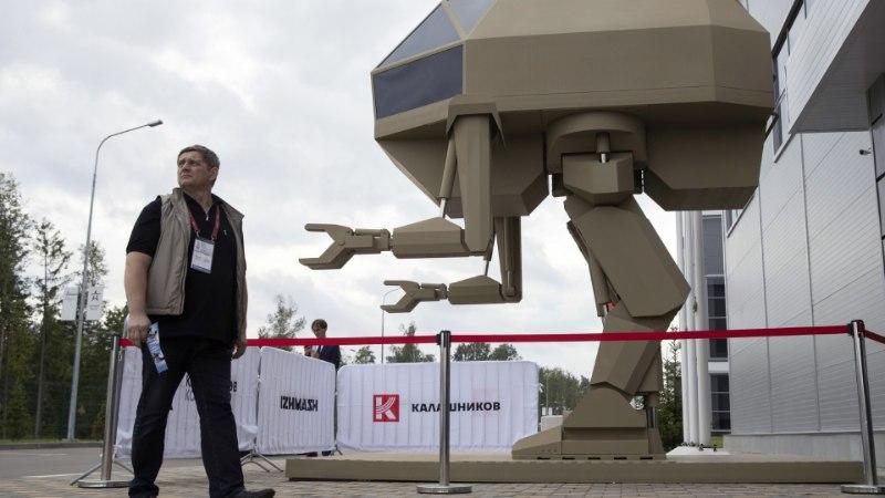 PROPAGANDA, ULME VÕI REAALSUS: Venemaa näitas hiiglaslikku võitlusrobotit