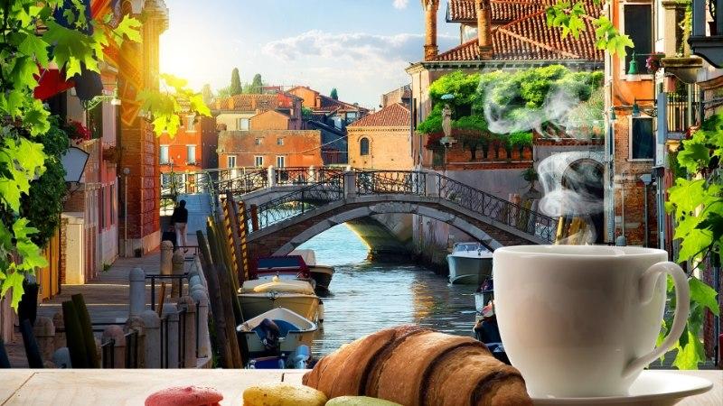 Turisti šokk: Veneetsia kohvikus kasseeriti kahe kohvi ja veepudeli eest 43 eurot!