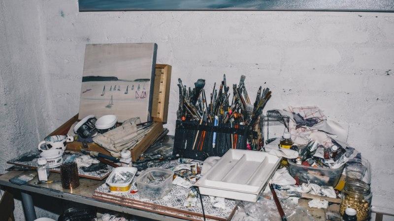 PILDID | Kunstnik Martin Saar avas Fahle Pargis grandioosse kunstistuudio