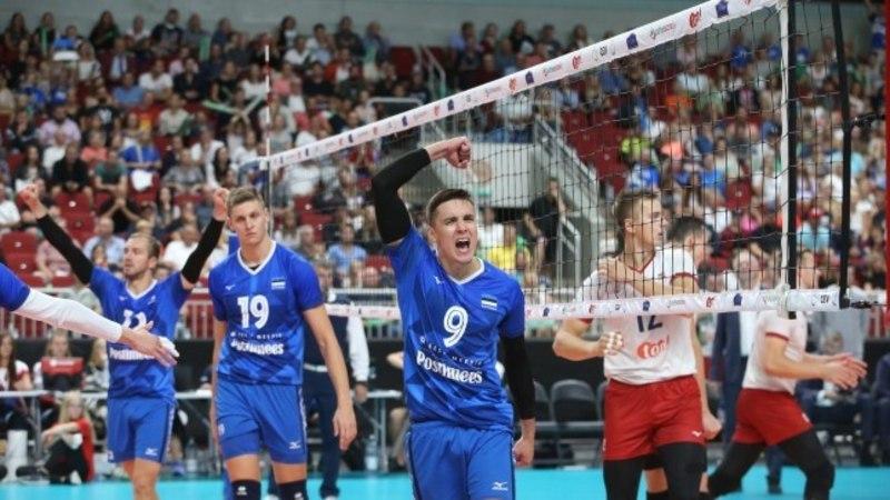 VÕIMAS! Eesti võrkpallikoondis alistas Iisraeli ning kindlustas koha EMil