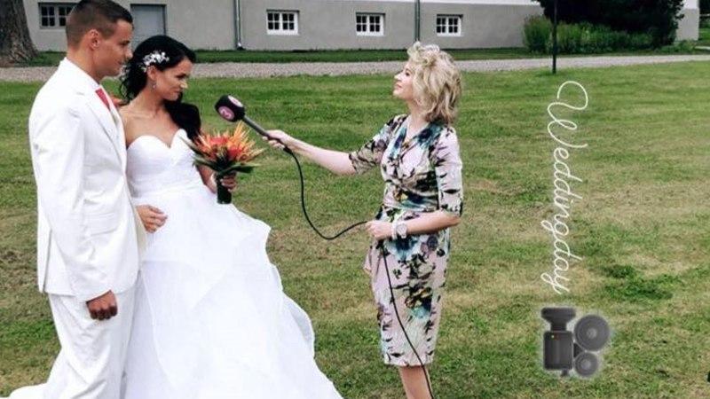 """Juhhuu! """"Naabrist parema"""" võitjad Jana ja Siim-Sten abiellusid"""