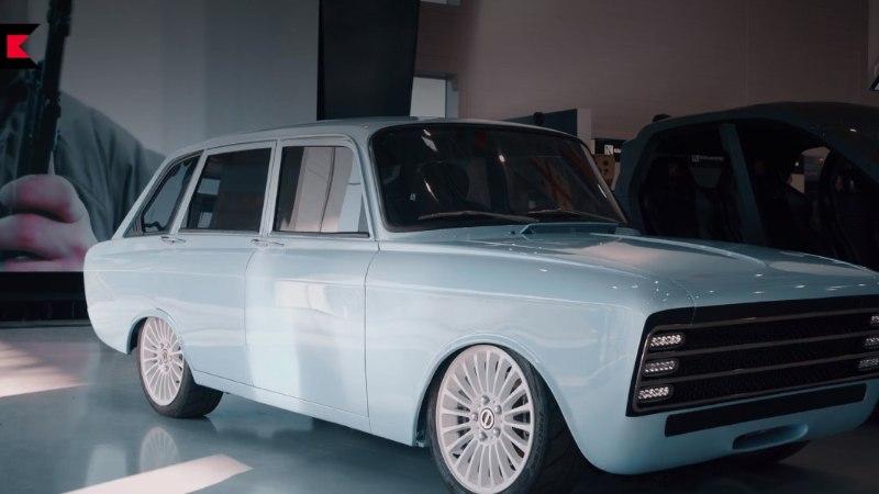 Elektri-mosse? Kalašnikov pürgib nõukogude stiilis elektriautoga Tesla konkurendiks