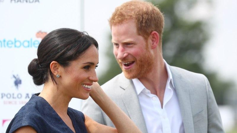 Prints Harry ja hertsoginna Meghan said perelisa