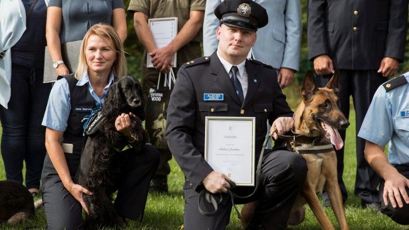 FOTOD JA VIDEO | Aasta Käpp on Vedur – koer, kes päästis pensionäri kindlast surmast