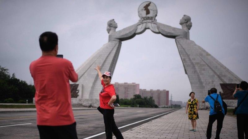 Põhja-Korea vabastab Jaapani turisti