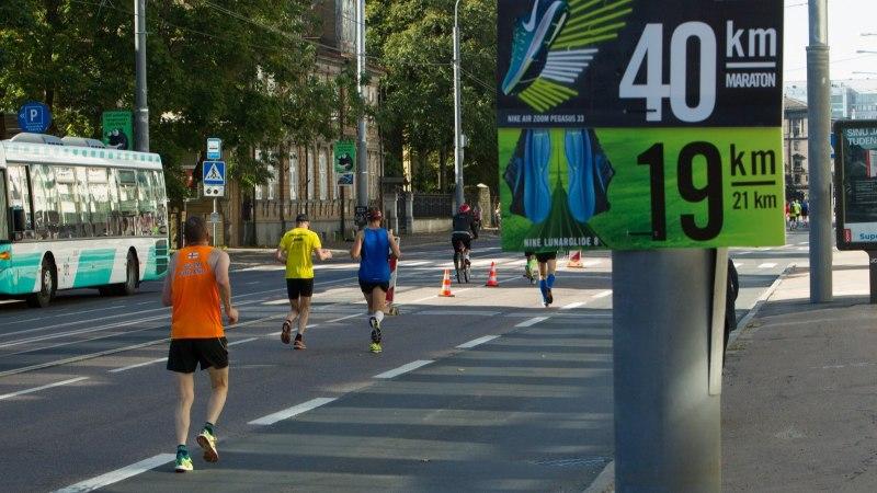 Tallinna maraton ja Sügisjooks toovad liikluses kaasa suured muudatused